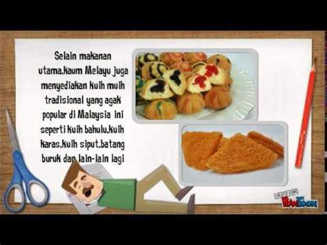 makanan tradisional kaum  malaysia youtube