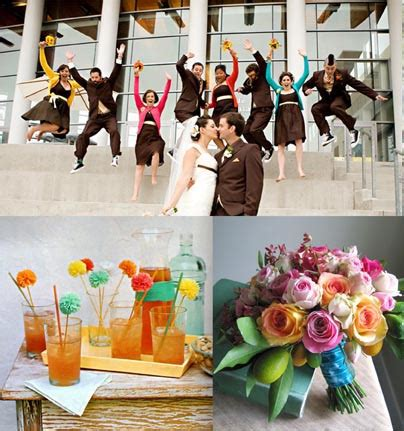 letha s however here are some ideas to convince you that rainbow wedding decoration