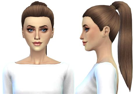 ponytailsims 4 child ponytail by miss paraply sims 4 nexus