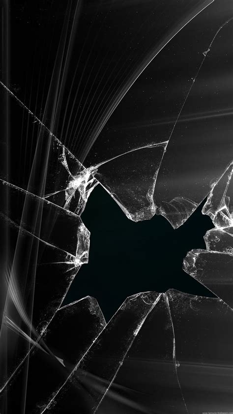 wallpaper for iphone cracked broken screen wallpaper black abstract picture cracked