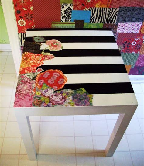 decoupage table ideas best 25 decoupage desk ideas on diy decoupage
