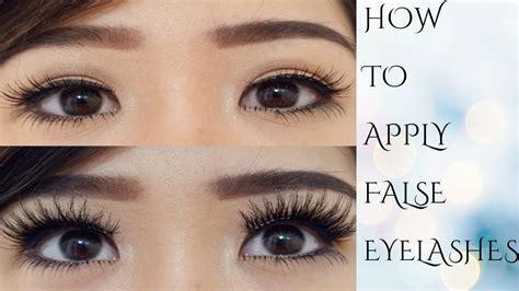 Jual Bulu Mata Palsu Bawah vc tutorial cara memakai bulu mata palsu atas bawah