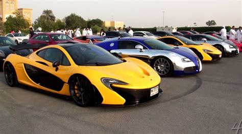 Bugatti Car In Dubai by Car Meets Are A Bit Different In Dubai And They Drag Race