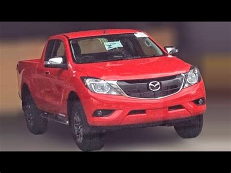 mazda truck 2016 2016 mazda bt 50 truck spied clearly
