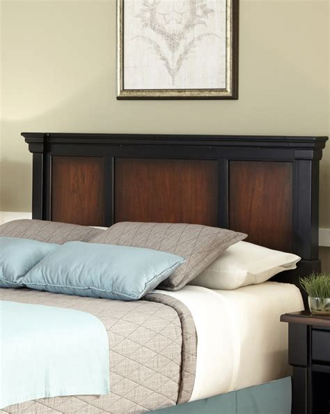 sears headboards queen home styles the aspen collection queen full headboard