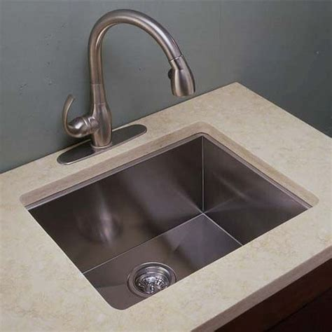 ei gs2218 22 wide kitchen sink 18 gauge zero radius