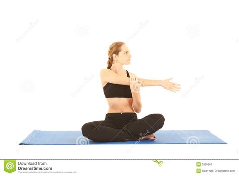 Pilates Mat Series by Pilates Exercise Series Stock Image Image 5538561