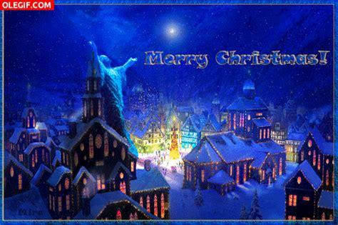 imagenes de feliz navidad movibles gif 161 feliz navidad con luces y fuegos artificiales gif