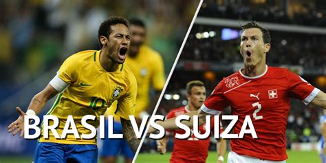 brasil contra suiza