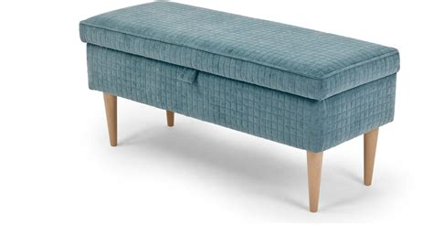Aqua Dining Room by Upholstered Bench With Storage Homesfeed
