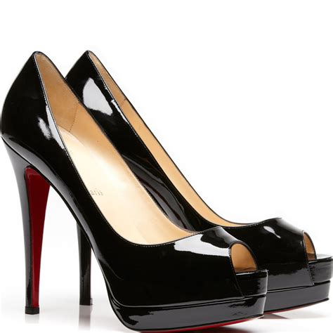 peep toe louboutin peep toe shoes