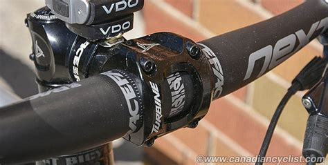 Raceface Stem Aeffect R 35 Black 50mm canadian cyclist review race components