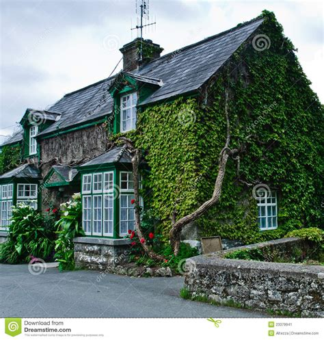 Country Cottage House Plans Cottage In Ireland Stock Image Image 23379941