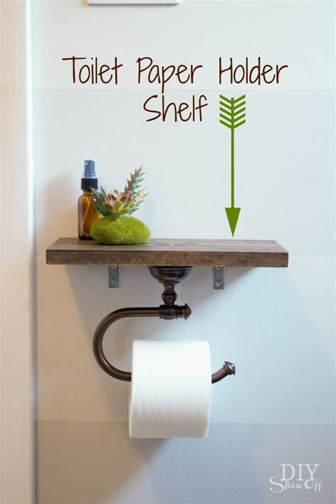 Make Toilet Paper Holder - 15 totally diy toilet paper holders homelovr