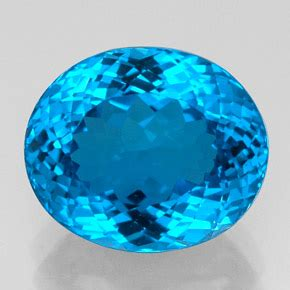 topaz 23 3ct oval from brazil gemstone