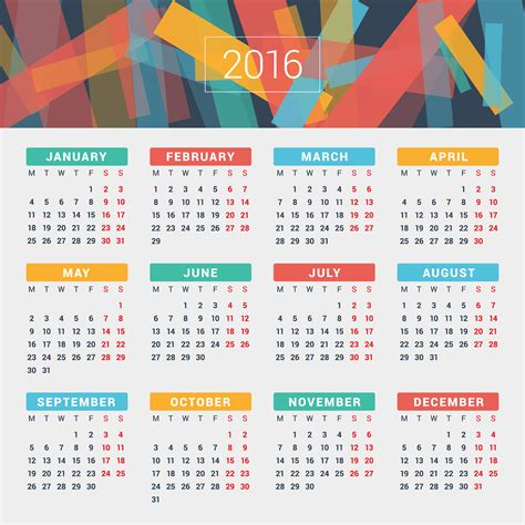 2016 Calendar By Month 2016 Year Calendar Wallpaper Free 2016 Calendar