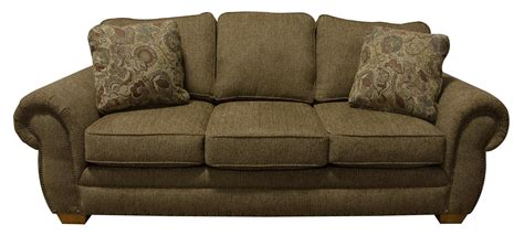 couch with nailheads england walters sofa sleeper with nailhead trim