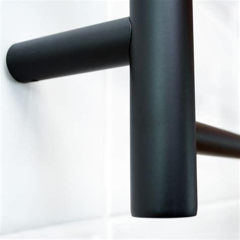Radiant Heated Towel Radiant Heated Towel Rail Rack Bar Black 600 X