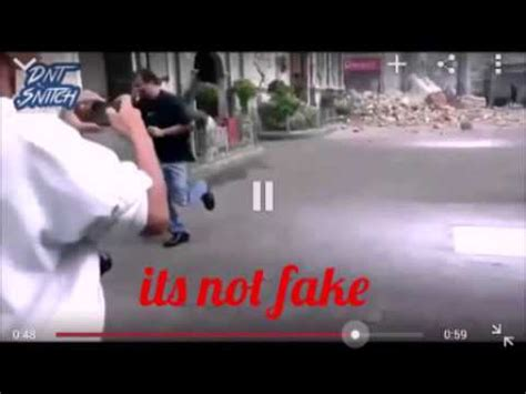 jesus caught on camera after church collapsed youtube