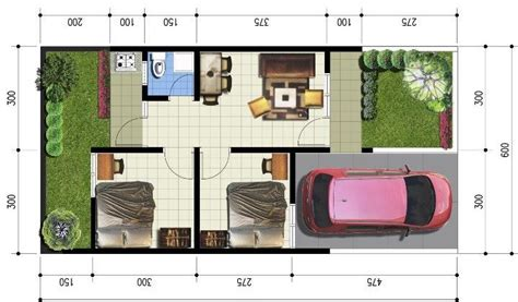 denah rumah minimalis sederhana  lantai   lantai
