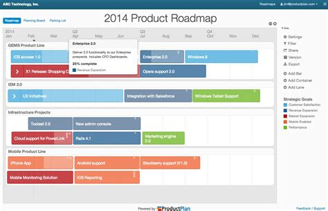 roadmap planning tool productplan alternatives and similar websites and apps