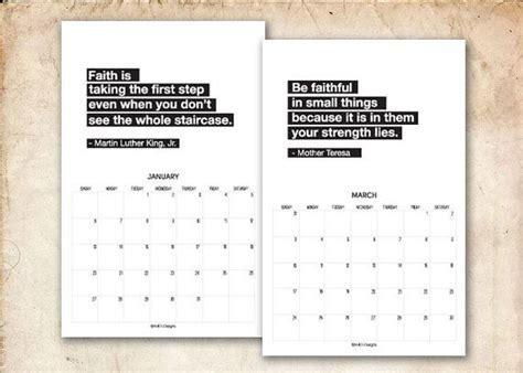printable calendar quotes calendar black and white quotes quotesgram