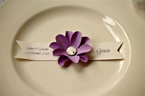 fiori segnaposto matrimonio segnaposto fai da te con fiori fotogallery donnaclick