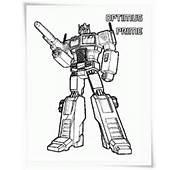 Transformers Ausmalbilder  Kostenlos