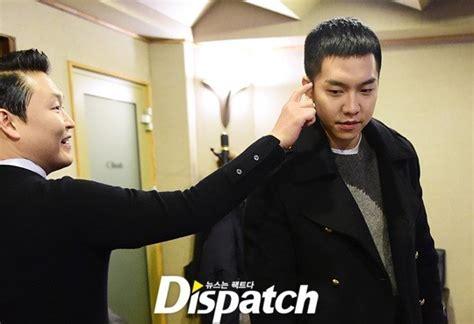 lee seung gi x man lee seung gi x psy ballad collaboration bts photos