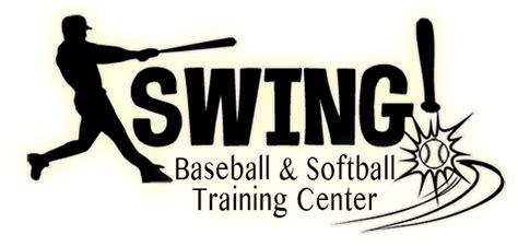 swing logo swing baseball and softball center youth baseball