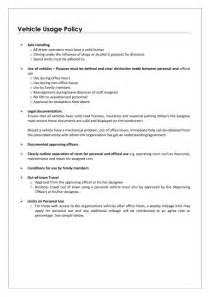 Employee Vehicle Use Agreement Template by Personal Use Of Company Vehicle Worksheet