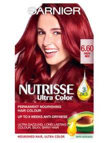 hair dye for 60 6 60 fiery red hair colour nutrisse garnier