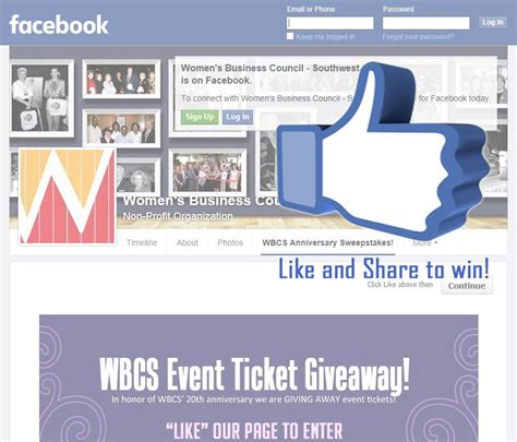 Southwest Ticket Giveaway Facebook - wbcs event ticket sweepstakes women s business council southwest
