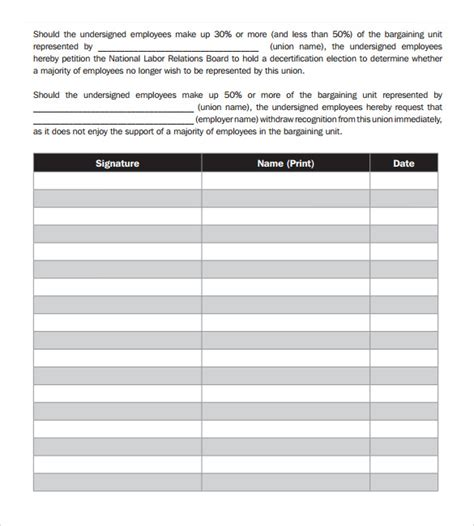document templates free petition template 23 free documents in pdf word