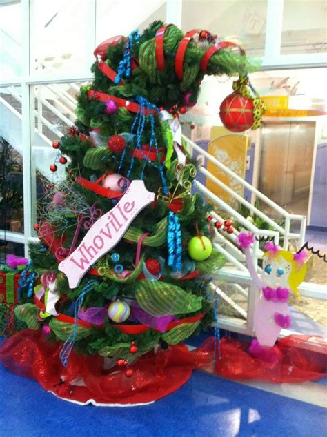 whoville christmas tree whooville christmas pinterest