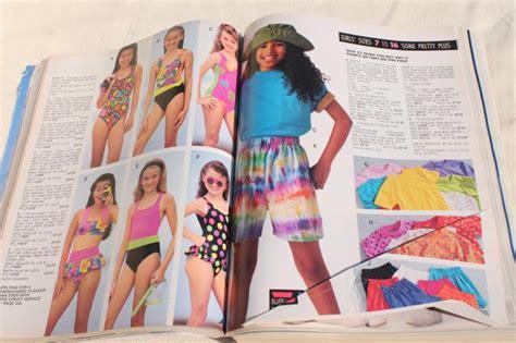 1992 vintage Sears big book catalog   fashion, home decor