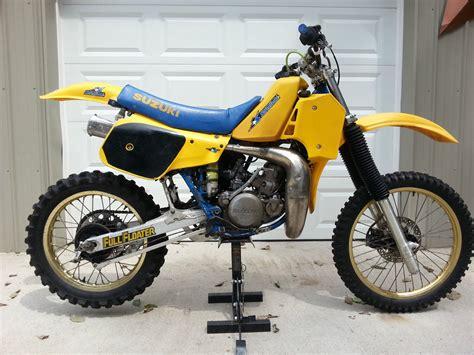 1985 Suzuki Rm 250 1985 Suzuki Rm250 Nj Floater Suzuki Rm Vintage