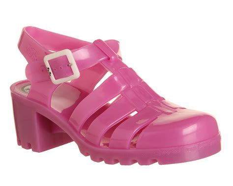 Pearl Pink Shoes juju hi jelly shoes pearl pink sandals