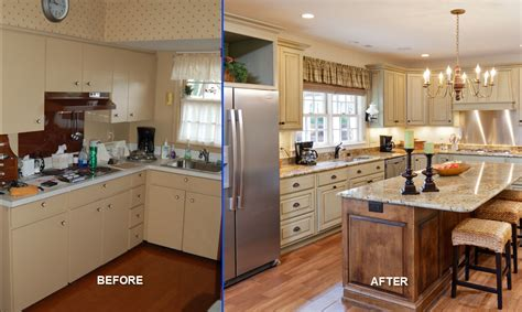 cheap kitchen remodel ideas before and after reface or replace kitchen cabinets pros cons
