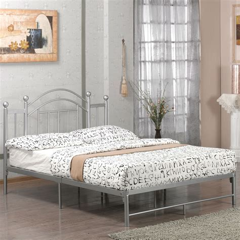 full bed frame with headboard full size metal platform bed frame with headboard and