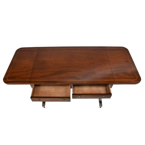 Drop Leaf Sofa Table Antique Mahogany Drop Leaf Sofa Table For Sale At 1stdibs