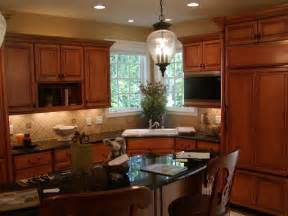 Kitchen Designs With Corner Sinks Corner Sink Kitchen Grand Rapids By Image Design Llc