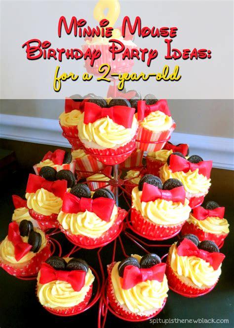 2 Year Ideas - minnie mouse birthday a 2 year s come