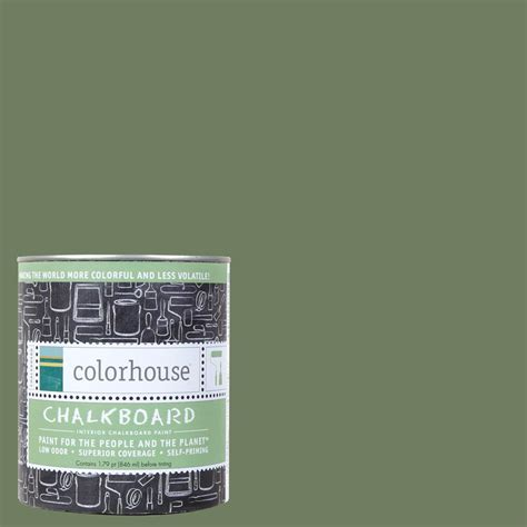 colorhouse 1 qt glass 05 interior chalkboard paint 644601 the home depot