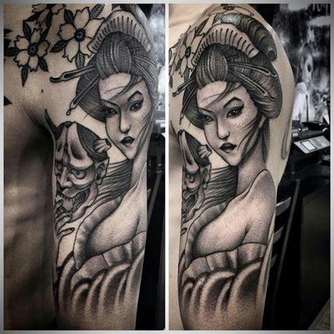 tattoo cô gái nh t geisha pin de t 226 m knightz em geisha pinterest gueixas