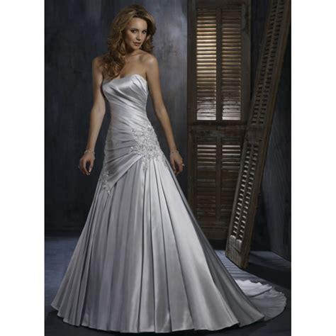 silver wedding dresses plus size dresscab