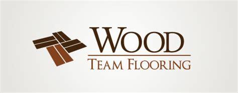 Flooring Logo by Wood Team Flooring On Behance