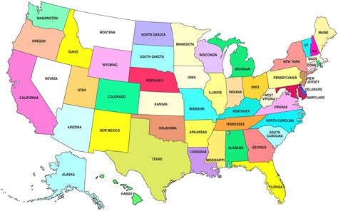map of the usa states printable us map with great lakes arabcooking me