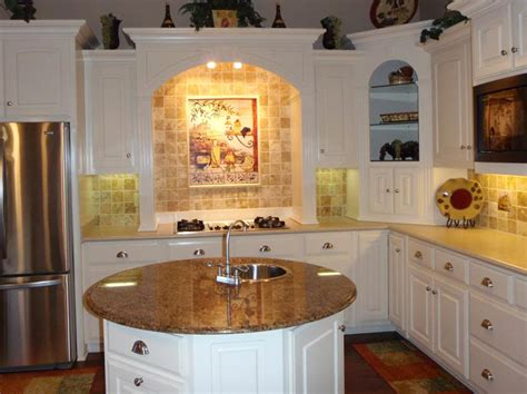 kitchen designs with small islands small kitchen designs