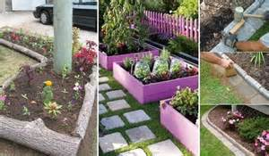 Garden Borders Edging Ideas 15 Awesome Diy Garden Bed Edging Ideas